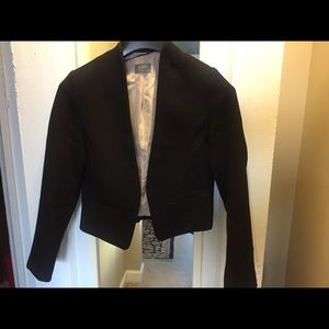 Black cropped jacket/blazer